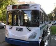 Закрывается движение троллейбусов