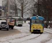 В Харькове сокращают трамвайное движение