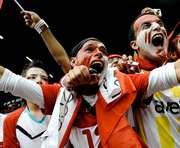 Во время Евро-2012 болельщиков «раскрасят»