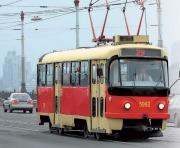 По улице Октябрьской революции временно закрывается движение трамваем