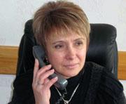 Людмила Немыкина принимает поздравления