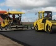 Дождь - не помеха при ремонте дорог