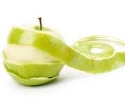 Яблочная кожура нормализует пищеварение