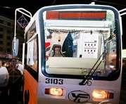 На Рождество в одном харьковском трамвае устроили форменный раскардаш: фото-факты