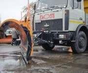 Техника  успешно справилась со снегопадом в Харькове