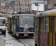 Пол дня в Харькове трамваи будут двигаться иначе
