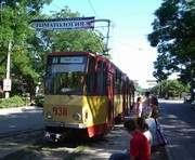 Из Харькова шесть трамваев отдали в Евпаторию
