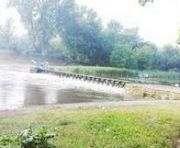 Лопанская плотина в Харькове находится в аварийном состоянии