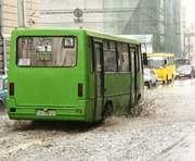 Стихия в Харькове обесточила несколько маршрутов электротранспорта