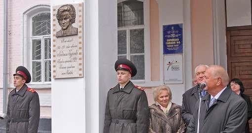 Людмилу Гурченко «прописали» в харьковской школе на Рымарской
