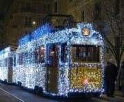 7 января в Харькове будет курсировать рождественский трамвай