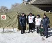 На Харьковщине работает более сотни пунктов обогрева