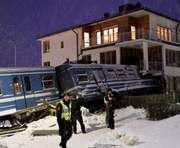 В Швеции девушка угнала поезд