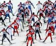В Харькове стартовали большие лыжные гонки