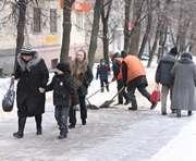 Харьков накрыла вторая волна гололеда