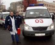 Харьковская скорая едет к пациенту девять минут