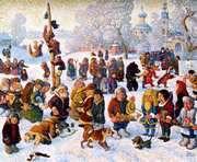 Масленицу в парке Горького будут праздновать больше недели