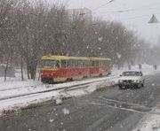 Погода в Харькове: опять метель