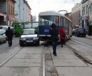 В Харькове сошли с рельсов два трамвая