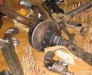 Харьковчане находят даже крупнокалиберные пулеметы