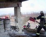 Пожар на складе меланжа под Харьковом тушили два дня