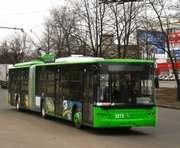 В Харькове прокладывают новую троллейбусную линию