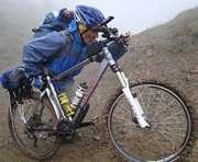 «Вечерний Харьков» доставят на Говерлу на велосипедах