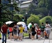 В Японии люди мрут от жары