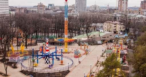 Что будет в парке Горького на Рождество