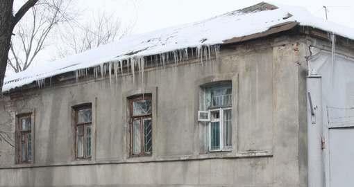 Харьковские альпинисты снова вышли на бой с сосульками