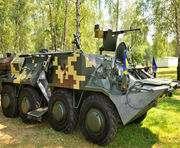 Харьковские конструкторы передали в Нацгвардию тренажеры по управлению БТР