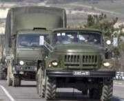 В Украину вошла российская военная колонна