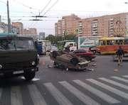 Крупное ДТП на проспекте Гагарина: на дороге – пробка
