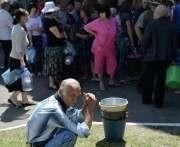 В Донецке сложилась критическая ситуации с питьевой водой