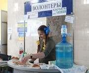 На Южном вокзале в Харькове переселенцы сидят прямо на полу: фоторепортаж