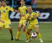 Украинки дожали белорусок в Минске