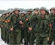 СНБО: В захваченном Новоазовске стоит техника с российскими флагами