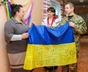 На Харьковщине участники АТО помогают патриотически воспитывать школьников
