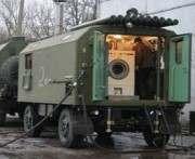 Харьковский завод передал бойцам АТО мобильную баню
