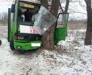 Под Харьковом в ДТП с участием автобуса пострадали восемь человек