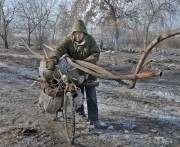 В Харькове наблюдается активизация «сборщиков» металлолома