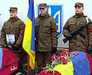 В Чугуеве попрощались с погибшими бойцами 92-й отдельной механизированной бригады