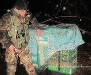 Харьковские пограничники задержали утиную контрабанду