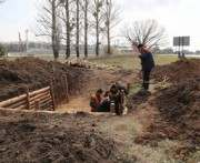 Опорный пункт на границе с Луганской областью построят до 1 мая