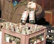 На Харьковщине нелегалы-алкопроизводители «попали» на крупную сумму