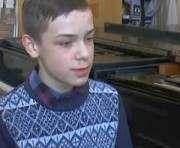 Юный пианист из Луганска написал музыку о Донбассе