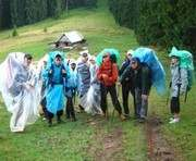 Харьковские туристы заблудились в Карпатах