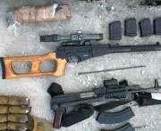 В Харькове нашли тайники с оружием и взрывчаткой: фото-факты