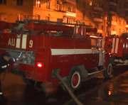 В Харькове сгорело кафе