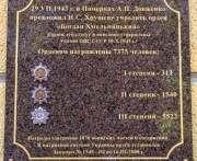В Харькове открыли мемориальную доску в честь ордена Богдана Хмельницкого
